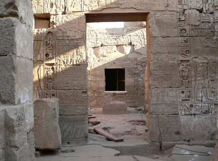 Temple of Khonsu - Project - Luxor - Egypt